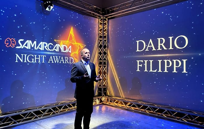 samarcanda night award